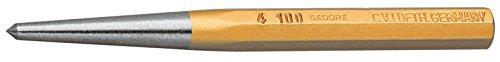 GEDORE Körner, 120 mm, Robuster Vanadium-Stahl, 5 mm Schlagkopfdurchmesser, Nach DIN 7250