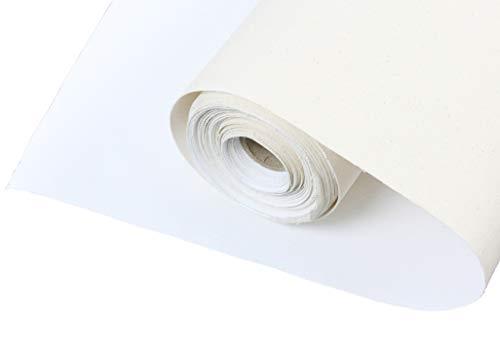 Meister LEINWAND auf ROLLE 10m x 100cm aus 100% BW 380gr/m², mehrfach vorgrundiert, Leinwandrolle