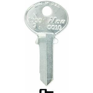 KABA ILCO CO10-X1000G Key Blank For Corbin Cabinet Lock by Kaba Ilco