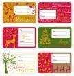 Box 100 Self Adhesive Christmas Gift Labels