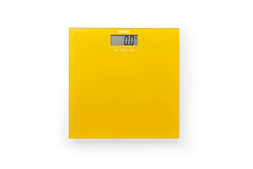 Excelsa SPA - Báscula eléctrica (30 x 30 cm), Color Amarillo