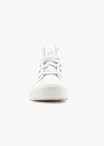 Palladium Damen Pampa Hi Hohe Sneaker, Weiß Beige (Marshmallow/cubic Print)