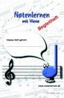 Notenlernen mit Vieno: Begleitheft zur Lernsoftware