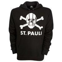St. Pauli Herren Kapuzensweatshirt schwarz XXL