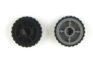 40X5451 - Paper Feed ACM Tires Roller knobby tire/hub t1 -