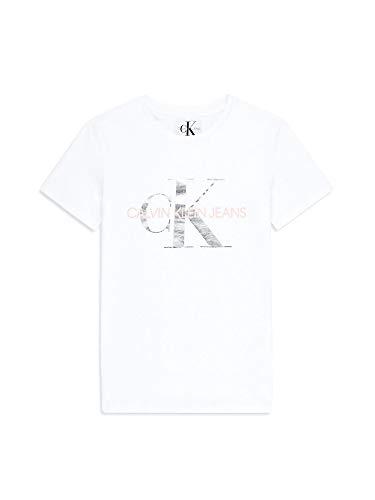 Calvin Klein Jeans Damen Shirt weiß M -