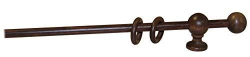 Bastone in legno a strappo mm.23 noce cm. 200