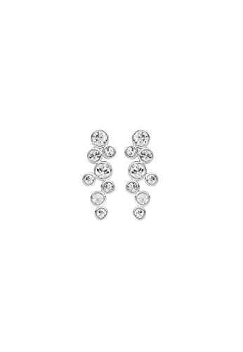 CHRIST Silver Damen-Ohrstecker 925er Silber 16 Kristall One Size, silber