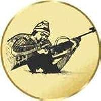 Motiv Federball S.B.J Durchmesser 50 mm Durchmesser Sportland Pokal//Medaille Emblem