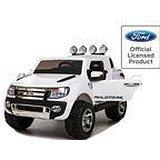 Babycar 550b Auto Elettrica Jeep SUV Ford Ranger Full Optional, con Telecomando, 12 Volt, Bianco