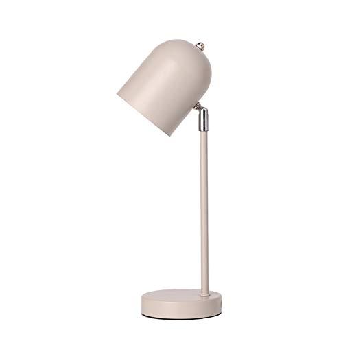 JFHGNJ lámpara de Mesa Hierro Forjado Redondo Base metálica Forma ...
