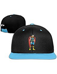 Big Boys' Cap Women Marvel Comics - Thor Adjustable Custom Snapback (Marvel Thor Hat)