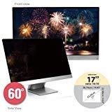 SenseAGE Anti-Blue Light Privacy Screen Protectors Filter for Widescreen Monitor 17 inch 16:10