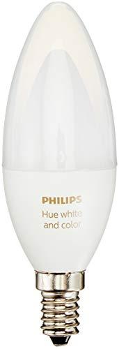 Philips Hue White und Color Ambiance E14 LED Kerze Erweiterung, dimmbar, bis zu 16 Millionen Farben, steuerbar via App, kompatibel mit Amazon Alexa (Echo, Echo Dot)