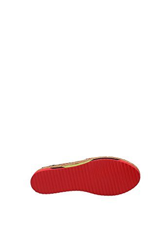 C18989AF6768F808 Dolce&Gabbana Espadrilles Femme Tissu Rouge Rouge