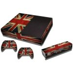 RISHIL WORLD UK Flag Pattern Decal Stickers for Xbox One Game Console
