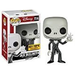 Funko - Figurine Nightmare Before Christmas - Snowflake Jack Skellington Pop 10cm - 0849803047283