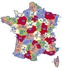 Carte routière : Gard - Hérault, N° 11339
