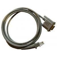 Datalogic RS232-Kabel PIN9 female, glatt, grau, 2m, passend für alle Handscanner, 90G000008