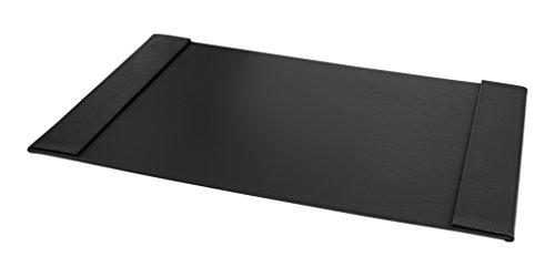 Preisvergleich Produktbild Pavo Premium Schreibunterlage PU Leder mit Einschub, Einsteckfächer Links und Rechts - 700 x 450 mm, schwarz