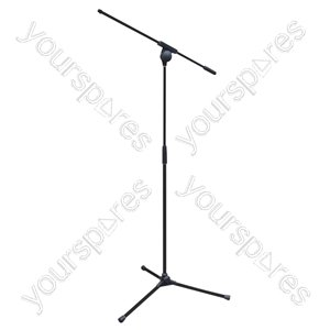 NJS066 Microphone Boom Stand - All Metal by New Jersey Sound