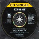 Hearted-cd Extreme-hole (More Than Words/Hole Hearted)