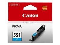 Canon CLI-551 C original Tintenpatrone  Cian für Pixma Inkjet Drucker MX725-MX925-MG5450-MG5550-MG5650-MG6350-MG6450-MG6650-MG7150-MG7550-iP7250-iP8750-iX6850