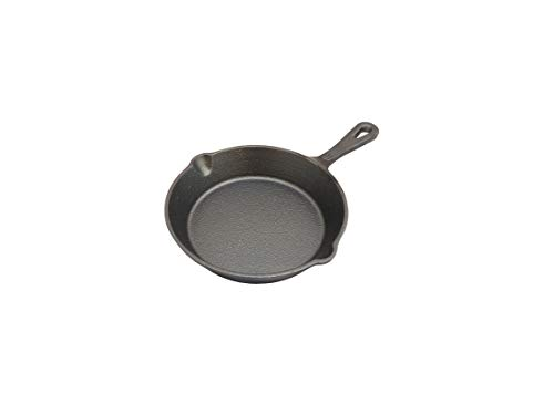 eKitchen Pre-Seasoned Cast Iron Mini Skillet/Mini Frying Pan/Mini Omlet Pan Diameter- 6 inches / 160mm / 16 cms