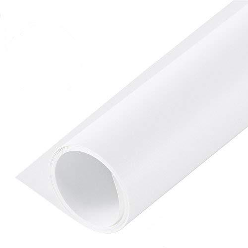 Selens 120 * 200cm Glatte/Matte Wasserdicht PVC Hintergrund Background für Fotostudio Weiß