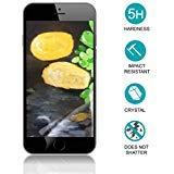 Displayschutzfolie für iPhone 7/8 Plus/unzerbrechlich PET/IK08 Fallballtest bestanden/Glas Alternative [1 Pack] [5,5 Zoll]