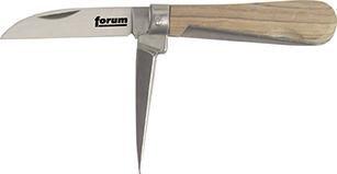 Forum 4317784843560 Couteau pour câbles avec 2 lames 160 mm