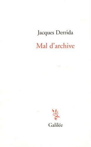 Mal d'archive : Une impression freudienne