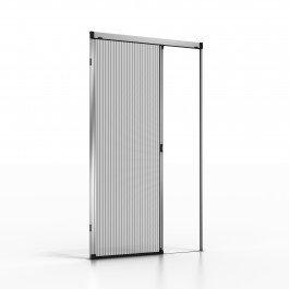Noflystore platinum.01 zanzariere plissettate su misura per porte e finestre, colore: verde, misura: 135 x 190 cm, made in italy