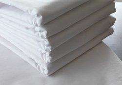 Haustuch / Betttuch / Bettlaken 150x250cm weiß