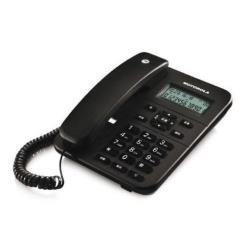 MOTOROLA CT202C - TELEFONO FIJO ANALOGICO (MANOS LIBRES  CAPACIDAD DE 30 CONTACTOS)  NEGRO