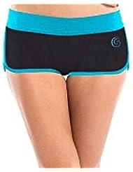 GlideSoul pour Femme Vibrant Stripes Collection - 0.5 mm Bikini Short