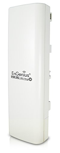 EnGenius ENH202 Bridge - Multipoint - CPE weiß -
