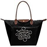 F1&Cany Women's Mumford & Sons Logo Handbag(Zaini) Fold Dumplings Type Shoulder Tote bag(Zaini)