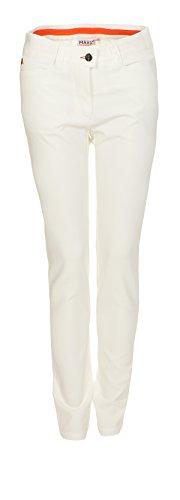 MAXX Golf Hose Mädchen mit verstellbaren Bund (Weiss, 152)