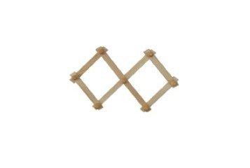 Appendiabito estensibile in legno di faggio. estensione da 45 a 60 cm. circa.