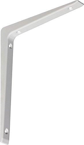 IB-Style - 1x Regalträger ALU Druckguss | 5 Größen | 150x200 mm in weiss| Regalhalter / Regalträger aus Aluminium für Wandregale mit Holz- Metall- und Kunststoffböden