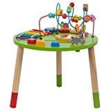 TOYSTERS Wooden Activity Table for Toddlers | Multi-Purpose Children€™s Educational Learning Play Toy