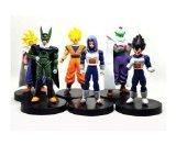 Dragon Ball Z DBZ 5 inch Songukou Vegeta Trunks Piccolo Cell Action Figure 6PCS/SET (Zoll Dbz Z Ball Dragon 5)