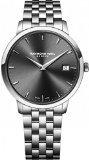 Raymond Weil Toccata Quartz Uhr, Grau, 42mm, Tag, Stahlband, 5588-ST-60001