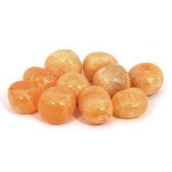 Calcite Pierre polie Orange 20 à 25 mm