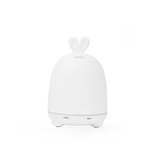 OME*QIUMEI Luz Colorida del Humidificador Ultrasónico 100Ml Led para La Oficina Casera De Aromatherapy De La Oficina del Coche