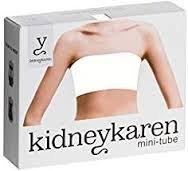 kidneykaren Ceinture Femme Mini Tube hüftwärmer White