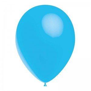 PMS BALLONS Ballon Bleu Ciel 28 cm Sachet de 12