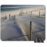 Tranquil Sand Dunes 1 Mouse Pad, Mousepad (Beaches Mouse Pad)