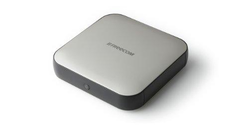 FREECOM Hard Drive Square 4TB (8,9 cm (3,5 Zoll), USB 3.0) silber